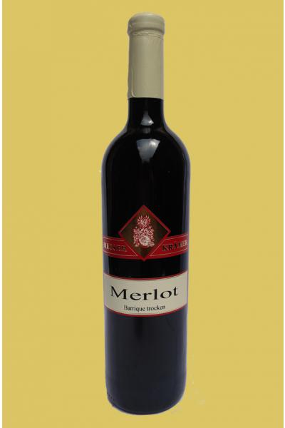 "Merlot ""Prestige"" QbA trocken - BARRIQUE"
