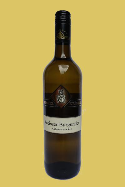 Weißer Burgunder Kabinett trocken